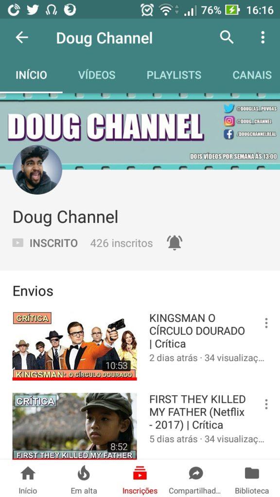 "Identidade ""Doug Channel"" Mobile"